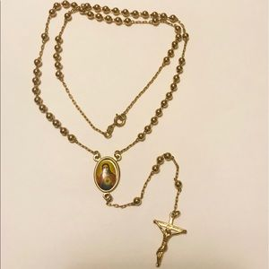 Gold Plated Top Quality Rosary